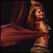 belly dance veil