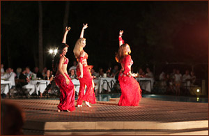 belly dance club med turkey